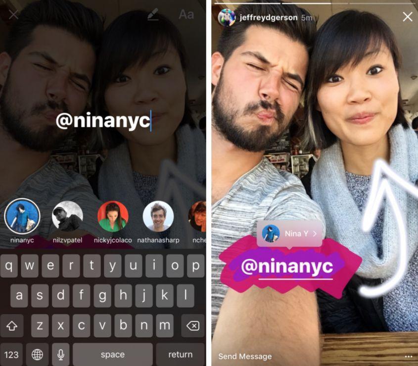 Instagram-Stories-menzioni luigi zanni