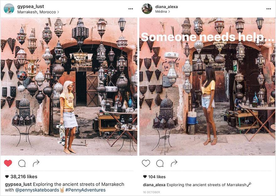nfluencer instagram lauren bullen jack morris luigi zanni 10